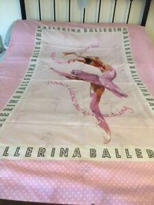 Catherine Lansfield Girls Single Ballerina Bedding Set In Excellent Condition
