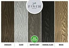 Finch Composite WPC Decking Boards Wood Effect Individual sample Anthracite Grey