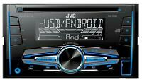 JVC KW-R520E - Doppel-DIN CD/MP3-Autoradio mit USB / AUX-IN