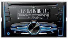 JVC KW-R520E - Doppel-DIN CD/MP3-Autoradio mit AUX-IN / USB - KW R 520 E