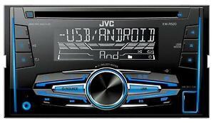 JVC KW-R520E - Doppel-DIN CD/MP3-Autoradio mit AUX-IN USB - KW R520 E