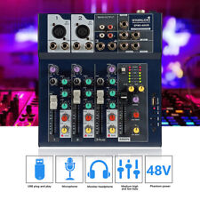 STARAUDIO Professional 4 Channel USB Audio Mixer Stage KTV Party Mixing Console