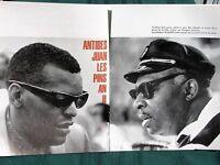 JAZZ -1961 French Magazine- Antibes Jazz Festival Louis Armstrong Duke Ellington