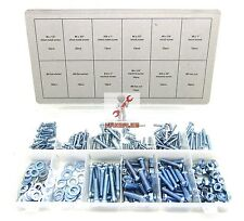 New 347pc NUT BOLT SCREW AND WASHER ASSORTMENT