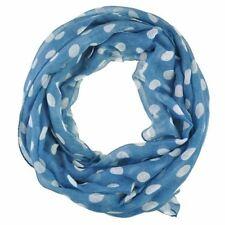 Écharpes et châles bleu avec des motifs À Pois pour femme