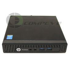 HP ProDesk 400 G1 Mini PC SFF i7-4785T 2.20GHz 4Gb RAM 500Gb HDD K6Q44UT#ABA