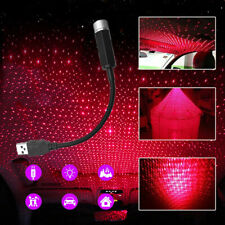 1x Car Roof Atmosphere Lamp USB LED Ambient Star Starry Light Car Accessories