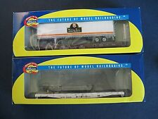 Athearn HO 92069/92052 50ft Flat with 45ft Trailer Southern Pacific/Santa Fe