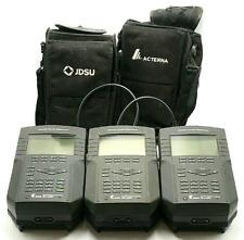 Acterna SDA-5000 Stealth Digital Analyzer (LOT OF 3) AS IS No Returns