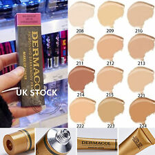 Brand New DERMACOL FILM STUDIO LEGENDARY HIGH COVERING FOUNDATION HYPOALLERGENIC