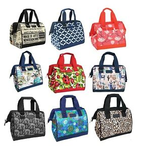 SACHI INSULATED LUNCH BAG Tote Storage Container Carry Strap Leak Proof