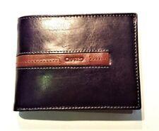 c19bd45bb9 Portafoglio pelle uomo CHARRO marrone portamonete porta carte e Carta  identità