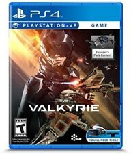 PLAYSTATION 4 PS4 VIDEO GAME EVE VALKYRIE VR BRAND NEW AND SEALED