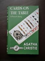 "2006 Book - ""Cards On The Table""  by Agatha Christie - Crime Club Edition"