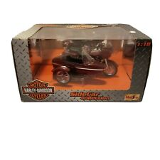 H23 Maisto HARLEY DAVIDSON Side Car Collection Maroon 2000 FLTR Road Glide 1:18