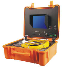 S/L Drain Inspection Camera 26mm dia x 40m with Meter Counter