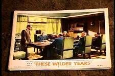 THESE WILDER YEARS 1956 LOBBY CARD #6 JAMES CAGNEY