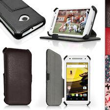 PU Cuero Funda Carcasa Piel para Motorola Moto E 2 Gen XT1524 Soporte Case Cover