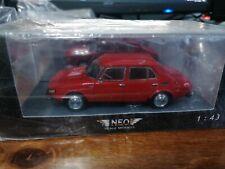 Neo 1/43 Saab 99 red 43676