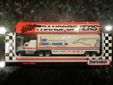 JR JOHNSON Matchbox 1992 Super Star Transporter