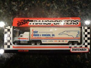 JR JOHNSON Matchbox 1992 Super Star Transporter