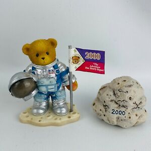 Cherished Teddies One Small Step For Love One Giant Leap For Friendship Figurine