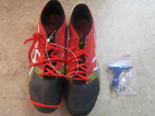 Asics Hypersprint 6 Men's Spikes Shoes Racing  G500Y Red Size 13