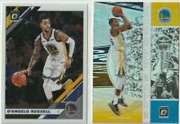 2019-20 PANINI DONRUSS OPTIC Kevin Durant D'Angelo Russell Golden State Warriors
