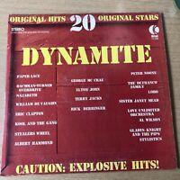 K-Tel Dynamite 20 Original Hits 1974 Compilation Vinyl LP RECORD TU2360