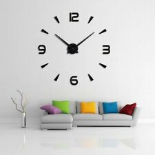 wall clock quartz watch  modern design large decorative clocks Europe acrylic