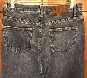 Tommy Hilfiger Jeans Men 30 x 32 Classic Fit Medium Wash Denim Mexico Made