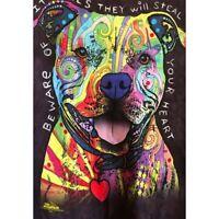 Dog Head Full Drill 5D Diamond Painting  Embroidery Cross Stitch Kits Wall Decor