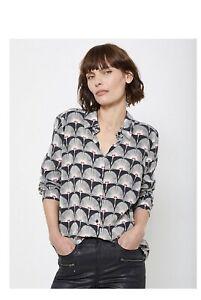 Mint Velvet Black Jude Wrap Top, Size 8, Brand New Rrp £79