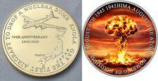 Enola Gay Gold Coin Bomber Hiroshima 1945 I Nuke Weapon War VJ Day World War II