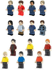 Star Trek Mini Figures NEW UK Seller Fits Major Brand Blocks Bricks