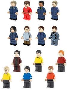 Star Trek Mini Figures NEW UK Seller Fits Major Brand Blocks Bricks