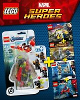 LEGO Marvel Avengers Super Heroes - Minifigures Super Collection - 100% NEW