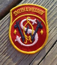 """Smith & Wesson 4"""" Advertising Cloth Patch"""