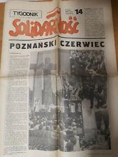 SOLIDARNOSC 14 1981 tygodnik