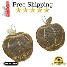 Beautiful Gold Decorative Netting Apple Shaped Free Shipping