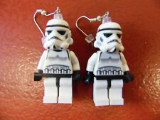 Star Wars Lego Minifigures Stormtrooper Handcrafted Earrings