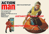 Action Man 1966 Pilot A3 Large Size Poster Advert Shop Display Sign Leaflet