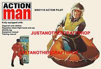 Action Man 1966 Pilot A3 Large Size Poster Advert Shop Display Sign Leaflet