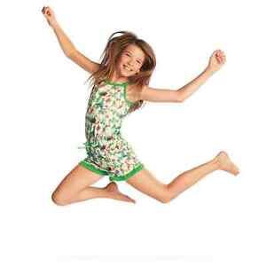 American Girl Lea's Leah Rainforest Dreams Romper Pajamas FOR GIRLS Small 7 / 8