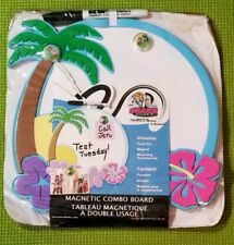 """Foam Bulletin Boards Tropical Island 10"""" X 10"""" Great For Schools And Home Magnet"""
