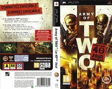 ARMY OF TWO  LE 40eme JOUR    -----   pour PSP  -----