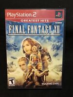 Final Fantasy XII (Sony PlayStation 2, 2006) Tested And Complete