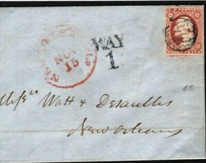 USA Classic Cover New Orleans SUPER *WAY/1* 1850s {samwells-covers} S219