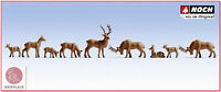 N escala 1:160 figuras modelismo maqueta trenes Noch 36730 Animales Ciervos 9x