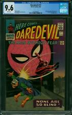 DAREDEVIL #17 CGC 9.6 WHITE PAGES SPIDER-MAN CROSSOVER CGC #2018599005